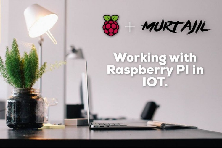 Murtajil working with Raspberry PI 3 in Iot (Internet of Things)