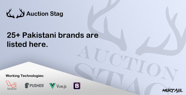 Auction Stag, 25+ Pakistani brands are listed here